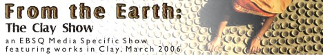 Banner for From the Earth: The Clay Show art show