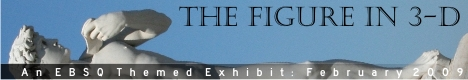Banner for The Figure in 3-D art show