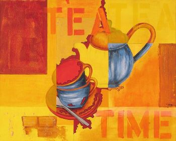 Tea Time by Linda C Smith
