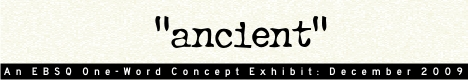 Banner for One Word Concept: Ancient art show