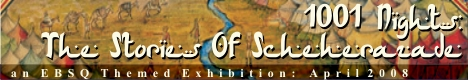 Banner for 1001 Nights: The Stories Of Scheherazade art show