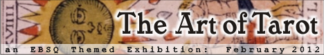 Banner for The Art of Tarot art show