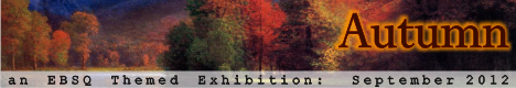 Banner for Autumn art show