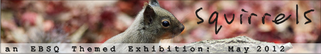 Banner for Squirrels art show