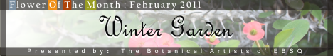 Banner for In the Winter Garden art show