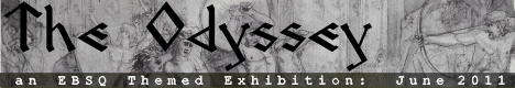 Banner for The Odyssey art show