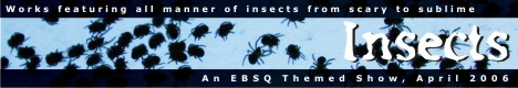 Banner for Insects art show