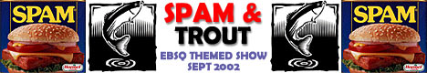 Banner for The September Spam & Trout Show art show