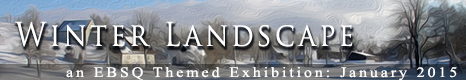 Banner for The Winter Landscape art show
